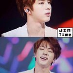 """""""@BTS_facts: [PREVIEW] 141030 Music Bank in Mexico - Jin (Cr: Jintime) @BTS_twt #호르몬전쟁 http://t.co/cfN7N5geeI"""" ulol jin"""