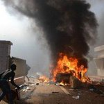 IN PICTURES: Burkinabe protesters burn down Parliament http://t.co/HM4c1I7RLD #BurkinaFaso http://t.co/UdTKPbz6tc