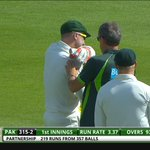 Haddin is going to stay out there! #PAKvAUS http://t.co/Wh6k59U1dz