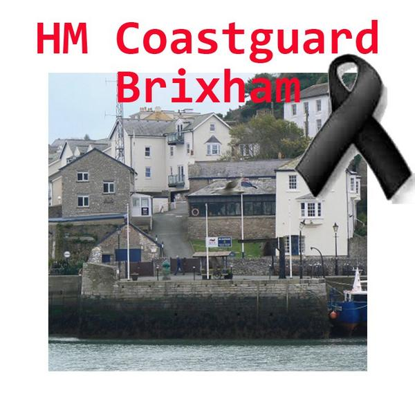 A VERY SAD DAY TODAY AS BRIXHAM COASTGUARD CLOSES. Please show your support for their officers. 4pm at Brixham Quay. http://t.co/2bFlPaeivu