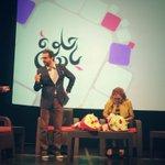 استعدادات رهف و فؤاد لحلقة اليوم من برنامج #حلوة_يا_دنيا @RahafS @FKarsheh @RoyaTV http://t.co/SOEYtarmo0