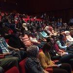 حضور رائع لمشاهدة برنامج #حلوة_يا_دنيا في المركز الثقافي الملكي @RoyaTV http://t.co/4ba4fBkxS8