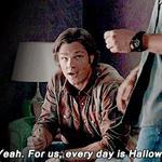 — Ага, для нас каждый день — Хэллоуин. #Supernatural http://t.co/PfzC9K4VI9