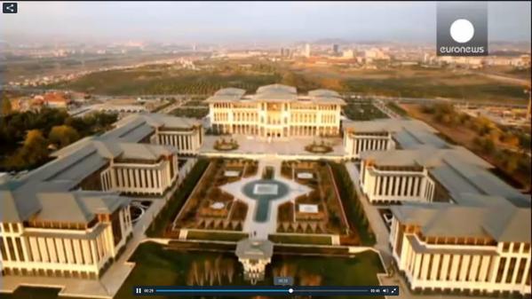 turkey pres erdogan opens a palace worthy of his increasingly regal ...