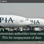 (News) #Turkme­nistan asks #PIA to pay dues for using its airspa­ce by Nov 3 http://t.co/zwnmOisxNv #Pakistan http://t.co/ty6Q4Qn1UZ