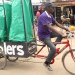 And the @Sustainia Award winner is... Nigerian garbage-for-goods project, Wecyclers! #100solutions http://t.co/Jwl7P55FcI