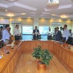 Secretary,I&B Shri Bimal Julka administering the #RashtriyaEktaDiwas Unity pledge at Shastri Bhawan, in New Delhi. http://t.co/67Luer4zp9