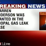 Former union carbide chief Warren M Anderson, wanted in Bhopal gas tragedy, dies at 92 http://t.co/kAERz6c8Hr http://t.co/JyAJ6ERrPF