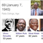 Raila will be 72 in 2017 and if he wants to win the presidency he will need to drop his defiance kind of politics. http://t.co/E0NI93srY7
