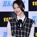 """[PHOTO] 141031 Sulli at """"Fashion King"""" Movie Press Conference (2) http://t.co/HjYSfWKFvQ"""