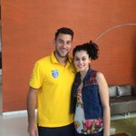"""@barisic27:Great to meet our number 1 fan @taapsee thanks for the support.See you in Bombay"