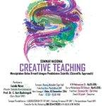 "SemNas ""Creative Teaching"" | 10 Des 14 | TP FIP UNY | info selengkapnya @FESTPUNY2014 |@linafitri_ http://t.co/oYlVGPkC5H"