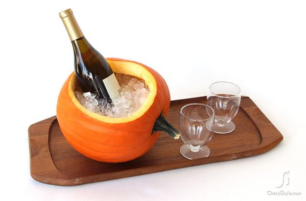 RT @TheWinerist: We love this carving idea! Festive and useful. #Halloween http://t.co/qJOBrSX6W6
