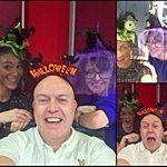 Happy Halloween ... Bit of @ClassicHits4FM Friday messing @JimMcCabe4FM & his Witches @Niamh_Maher ???????????????????????? http://t.co/FfxoiB4Pxh