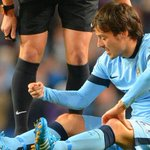 Good news for the red half of Manchester - David Silva is out of Sundays derby with a knee injury. #MCFC #MUFC http://t.co/OULITPzyjJ