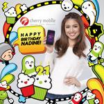 Happy Birthday Nadine Lustre! See you soon! =) @hellobangsie http://t.co/K7AKK2h8ak