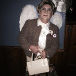 Its Mrs. Doubtfire with angel wings! Brilliant and touching! @WehoDaily @WHconfidential @PRJonesy @theToddHenry http://t.co/So8sR7y06m