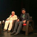 """الفنان نديم صوالحة والفنان غاندي صابر سيتحدثان عن مسرحية """"استراحة على متن الريح"""" التي تجسد حياة جبران خليل جبران http://t.co/p2adkESarZ"""