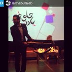 @FKarsheh عم يفرجينا كم من #ناي في مع الفرقة الموسيقية.. #حلوة_يا_دنيا @RoyaTV #رؤيا #Roya http://t.co/kADlT7TAys