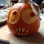That time of year, Pumpkin carving, I will be running carving workshops today @artintheparktwt from 11-1and 2.30-4-30 http://t.co/qy6Qf17sEj