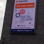 Good morning @DigitalCologne, wir  @Greven_Medien sind dabei & lassen unser Videoboard mal etwas mitarbeiten #digicgn http://t.co/TKnZXaq6fx