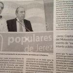 Jerez, Capital Mundial del Motociclismo. Un atractivo para los inversores Con #PelayoAlcaldesa #JerezGana http://t.co/lmxWstTNCG