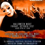 Today is Halloween and Tonight is #Dalloween Club Icon 10333 Technology Blvd Dallas, Tx.. Get there early!!!!!!!!!!!! http://t.co/J9jb11UQWj