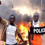 I have quit! Burkina Fasos President Blaise Compaore says in statement he has stepped down after protests http://t.co/iRTHRmAUJ9