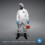 Got an #Ebola costume for tonight? Donate a real Ebola suit. #MoreThanACostume http://t.co/ZTQ6gcBmDV @NickKristof http://t.co/tSCg8IyGG7