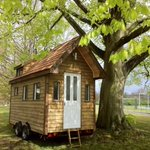 House prices getting you down? Why not ditch the mortgage and join the tiny house movement. http://t.co/mAamisLpzZ http://t.co/X4K60GdIgF