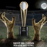 Happy Halloween from @NDFootball ! http://t.co/E86Vz21kHa