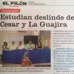 Nuestros intereses quedaron sin dolientes en el diferendo limítrofe con La Guajira @Valledupar @RadioGuatapuri http://t.co/t3ogMV5h0X