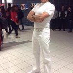 😂😂😂😂 Janitor Mr Clean for halloween http://t.co/2Mt6cH2nXw