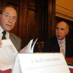 El juez Zaffaroni presentó su carta de renuncia a la Corte Suprema http://t.co/dymRn8Muu6 http://t.co/DibLsHFjR8