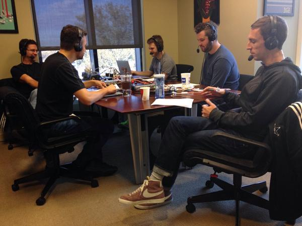 Recording The Drop. Should be in your feed by 12p EST. Enjoy it! #TheStarters http://t.co/xFR5lwgKH4