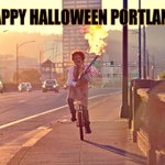 #HappyHalloween #Portland! Remember, no costume is complete without #FlamingChainsaws, #Bagpipes, or a #Unicycle. http://t.co/g63seWNymF