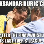 Thank you Duric! Youll always be remembered as one of the football greats in Singapore. http://t.co/hAMjmM1rLX