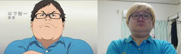 仕事場で水色のポロシャツ発見!仮装してみたよ!とりっくおあとりーとw http://t.co/M6047FKJFa
