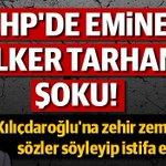 Yönetimin olası vahim tercihlerini değiştiremeyeceğimi anladığımdan CHPden istifa ediyorum.. http://t.co/YHgtYEH4KR http://t.co/Xh1CquOAyO