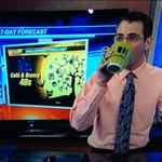 Hahaha! @jloganwxguy busted sipping his coffee. Wake up, dude! http://t.co/LF5lyxHYFr
