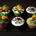 Happy Halloween all! Celebrate in style with these spooky cupcakes at @TheCafeCR at @CafeRoyalHotel http://t.co/3hgWF494hl