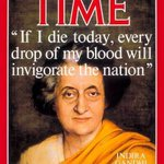 Time magazine cover page after #IndiraGandhi assasinated with title of excerpt of her last speech in Assam http://t.co/AnREFCvIcd