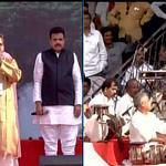 Mumbai: Devendra Fadnavis to take oath as Maharashtra CM, Artists perform at Wankhede Stadium http://t.co/YwmNuDArcl