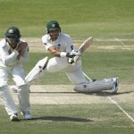 Pakistan Captain Misbah Ul Haq & Younus Khan, who goes past 150 are relentless in Abu Dhabi http://t.co/ym1QagQsl8 http://t.co/FE3chAoQLq