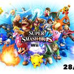 Super #Smash Bros. for Wii U était annoncé en Europe pour décembre.  Changement de programme : sortie le 28/11/2014 http://t.co/v7uQpQ0p1Y