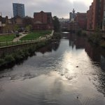 The River Don right now in #sheffieldissuper http://t.co/LzZrik7ZpE