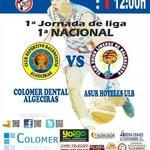 Pistoletazo de salida en la Liga de Primera Nacional con el derbi Algeciras-La Línea. Sábado, 12h00 en Algeciras. http://t.co/rAcycWBvC9