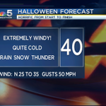 One #HORRIFIC #HALLOWEEN on the way today #CHICAGO. Lets call it a #FrighteningFriday! @nbcchicago http://t.co/xy3cBOqrQU