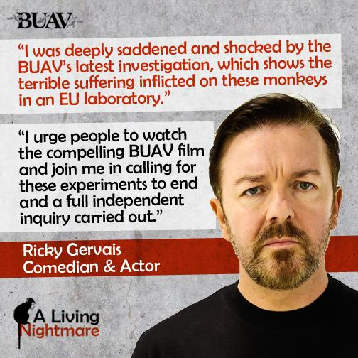 Thank you to @RickyGervais for speaking out in support of our #LivingNightmare investigation http://t.co/GZHn1KFzew http://t.co/ewOLJSOOqX