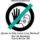 Manifestarse para destapar su corrupción y llamarles sinvergüenzas es un derecho y no un delito #StopLeyMordaza http://t.co/DzDF0JlX4B